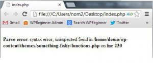 Cara Memperbaiki Syntax Error WordPress