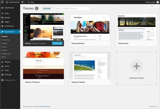 Cara Pasang Tema WordPress