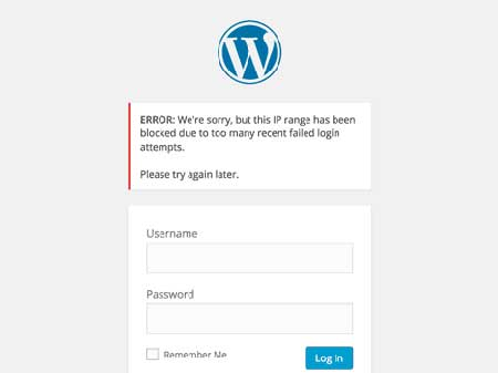 Blok Alamat IP Cegah Akses WordPress Admin