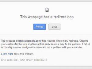 Cara Perbaiki Error Redirect di WordPress