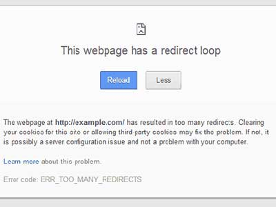 Cara Perbaiki Error Redirect di WordPress