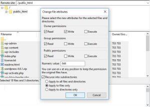 Cara Memperbaiki Error File Folder Permissions di WordPress