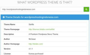 Cara Mencari Tahu Theme WordPress Yang Digunakan Suatu Website