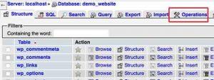 Cara Menduplikasi Database WordPres dengan PhpMyAdmin
