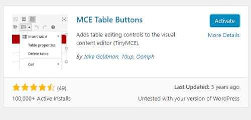 Cara Membuat Table di WordPress