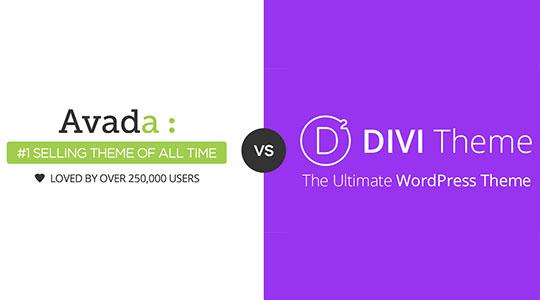 Perbandingkan Tema WordPress Premium Terbaik, Divi vs Avada