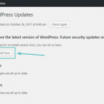 Cara Instal Ulang WordPress