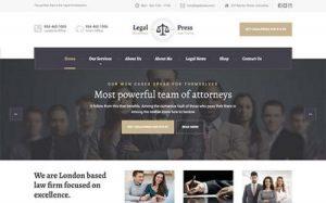 Tema WordPress Terbaik Untuk Website Hukum